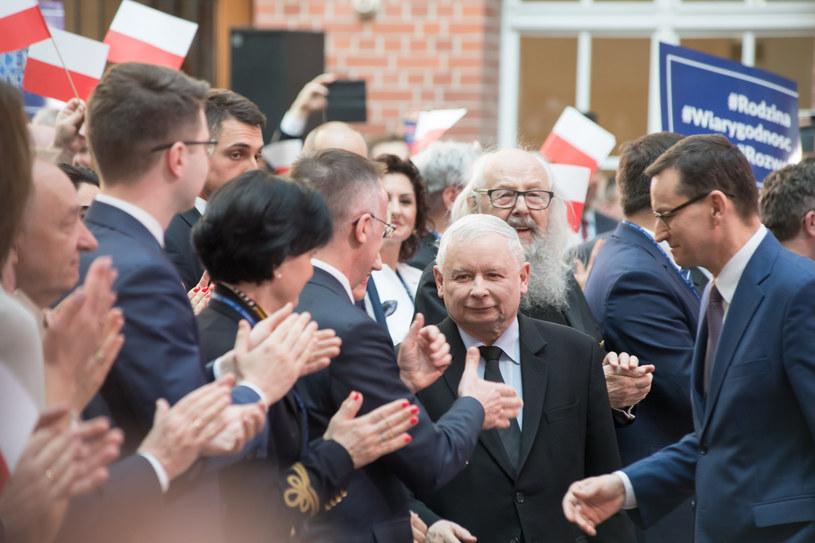 Politycy PiS /Fot. Wojciech Strozyk /Reporter