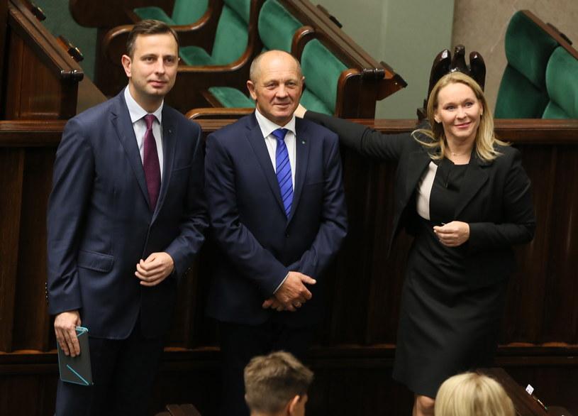 Politycy Polskiego Stronnictwa Ludowego w Sejmie /Tomasz Gzell /PAP