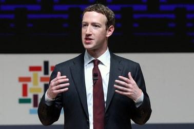 Politycy zaskoczeni decyzją szefa Facebooka. Jest specjalny apel