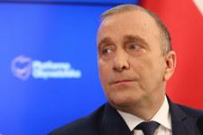 """""""Polityczna emerytura""""? Grzegorz Schetyna w RMF: Nigdzie się nie wybieram"""