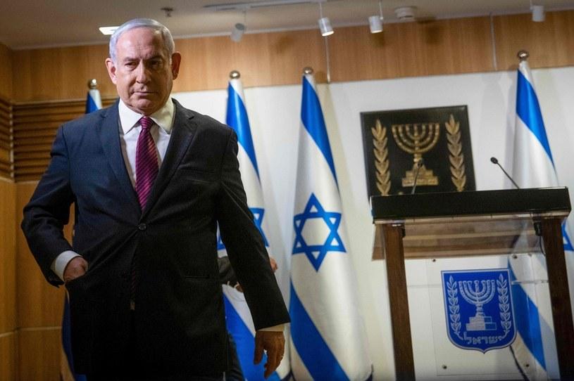 Polityczny kryzys w Izraelu. Kraj czekają czwarte wybory parlamentarne w ciągu ostatnich dwóch lat. Czy premier Benjamin Netanjahu utrzyma władzę? /Yonathan SINDEL / POOL / AFP /East News