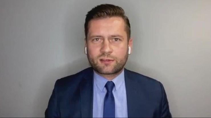 Polityk Porozumienia Kamil Bortniczuk /Polsat News