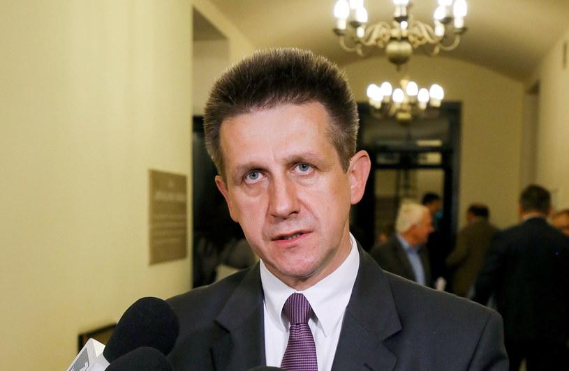 Polityk PSL - Jan Bury /Paweł Supernak /PAP