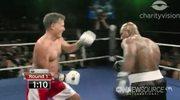 Polityk zmierzył się na ringu z mistrzem wagi ciężkiej