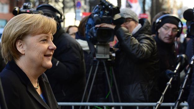 Polityka. Angela Merkel początkowo nie zgadzała się na opłaty... /AFP