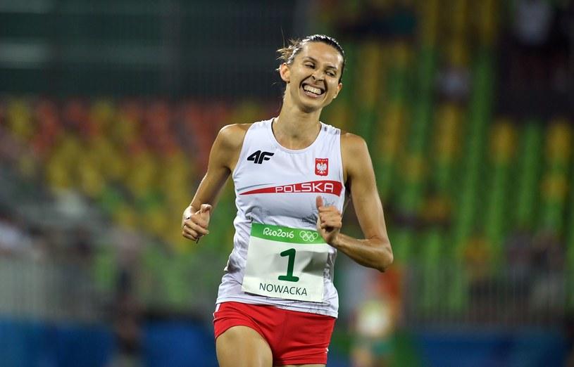 Polka podczas biegu po medal igrzysk w Rio de Janeiro /AFP