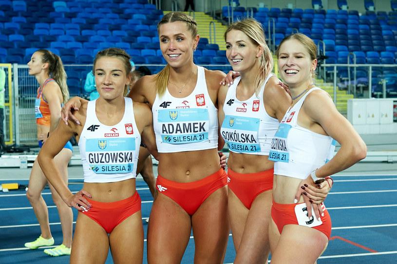 Polki (od lewej): Paulina Guzowska, Klaudia Adamek, Katarzyna Sokólska, Pia Skrzyszowska /Łukasz Szeląg /East News