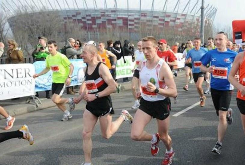 Półmaraton warszawski zakończył się dużym sukcesem organizacyjnym /Adam Ciereszko /PAP