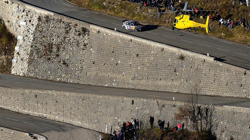Polo WRC na odcinkach specjalnych Rajdu Monte  Carlo /