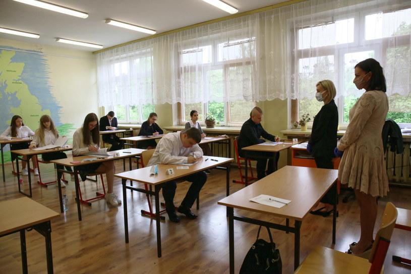 Poloniści komentują poziom tegorocznego egzaminu ósmoklasisty /Lech Muszyński /PAP
