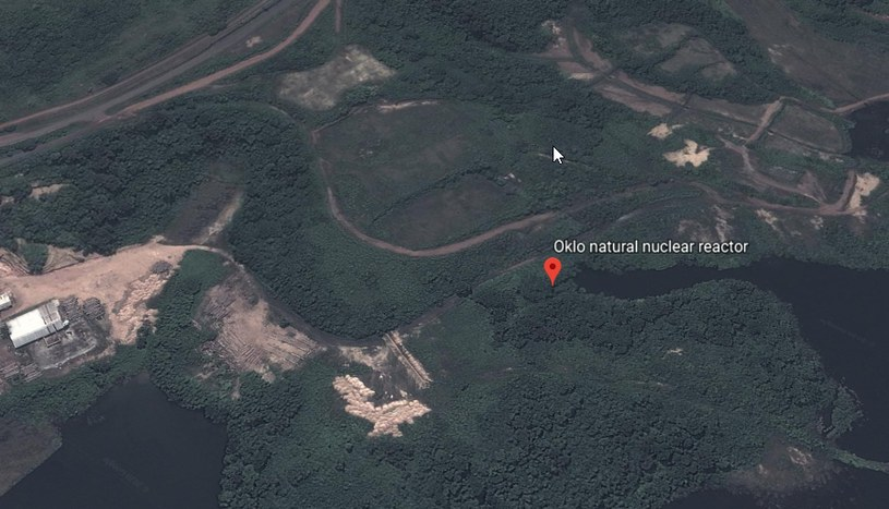 Położenie Oklo, Google maps /Styl.pl
