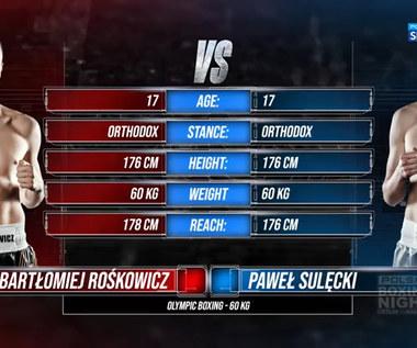 Polsat Boxing Night. Bartłomiej Rośkowicz - Paweł Sulęcki - skrót walki (POLSAT SPORT). WIDEO