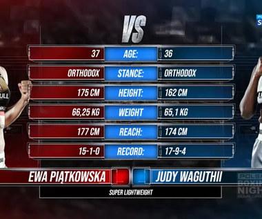 Polsat Boxing Night. Ewa Piątkowska - Judy Waguthii - skrót walki (POLSAT SPORT). WIDEO