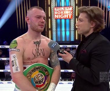 Polsat Boxing Night. Łukasz Stanioch: Pas był dodatkiem. Najważniejsze było zwycięstwo (POLSAT SPORT). Wideo