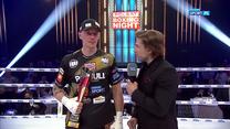 Polsat Boxing Night. Michał Cieślak: Jestem zniesmaczony, że tak szybko się to skończyło (POLSAT SPORT). Wideo