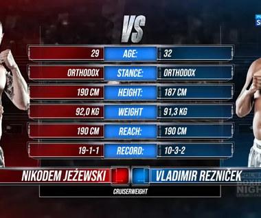 Polsat Boxing Night. Nikodem Jeżewski - Vladimir Reznicek - skrót walki (POLSAT SPORT). Wideo