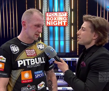 Polsat Boxing Night. Nikodem Jeżewski zdradził plan na kolejną walkę (POLSAT SPORT). Wideo
