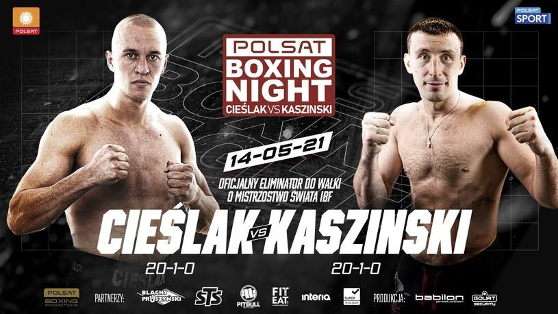 Polsat Boxing Night /mat.prasowe /materiały prasowe