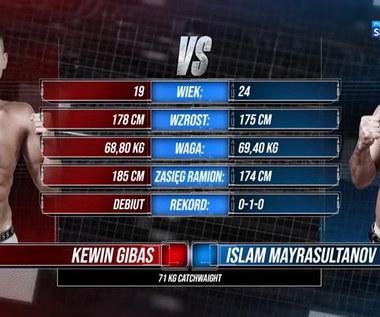 Polsat Boxing Promotions. Kewin Gibas - Islam Mayrasultanov. Skrót walki (POLSAT SPORT). Wideo