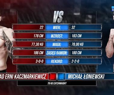 """Polsat Boxing Promotions. Konrad """"Erni"""" Kaczmarkiewicz - Michał Łoniewski. Skrót walki (POLSAT SPORT). Wideo"""