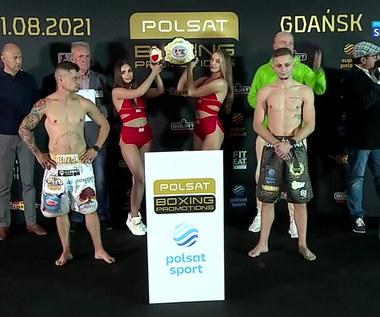 Polsat Boxing Promotions: Wyniki ważenia (POLSAT SPORT). Wideo