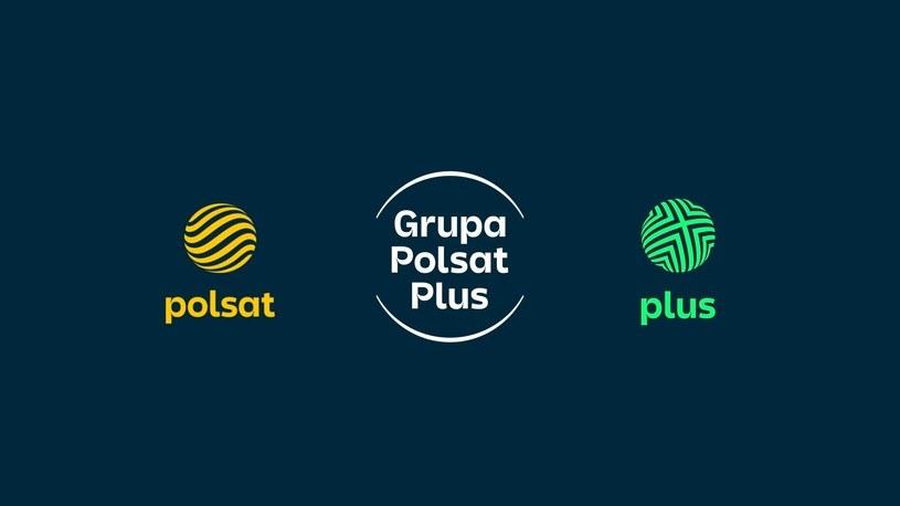 Polsat i Plus z nowymi logotypami /Informacja prasowa