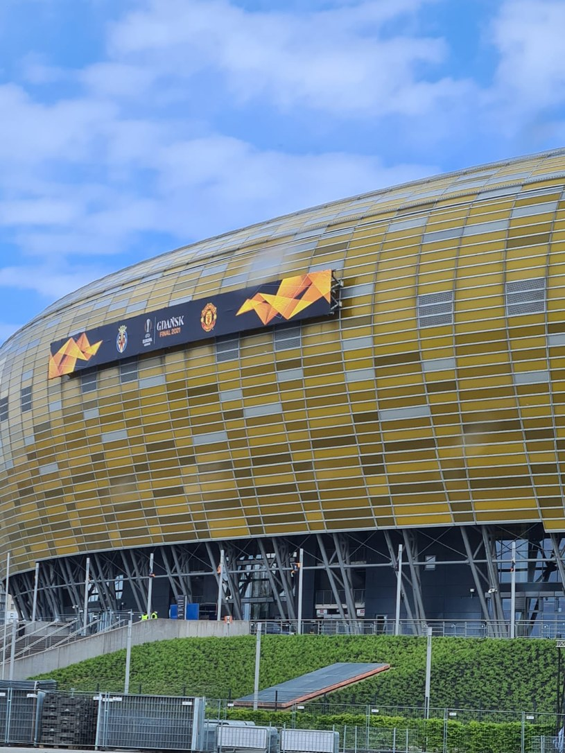 Polsat Plus Arena w Gdańsku - arena finału Ligi Europy /Maciej Słomiński /
