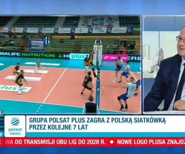 Polsat Plus zagra z polską siatkówką! Marian Kmita o planach na przyszłość. WIDEO (Polsat News)