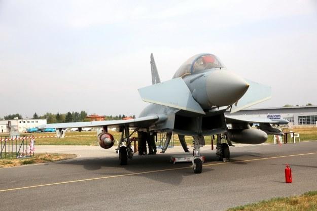 Polsce oferowany jest też myśliwiec Eurofighter, fot. Andrzej Hładij/Defence24.pl /materiały prasowe