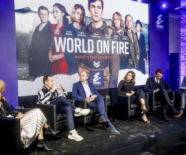 """Polscy aktorzy o kulisach międzynarodowej produkcji BBC """"World on Fire"""""""