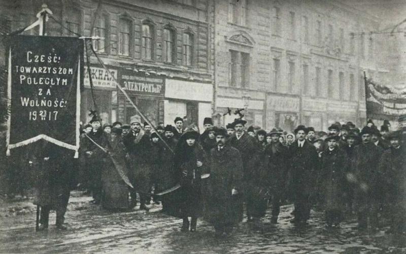 Polscy bolszewicy w Rosji. Watykan długo wierzył, że Lenin dotrzyma słowa, a mieszkańcy Rosji przejdą na katolicyzm /domena publiczna