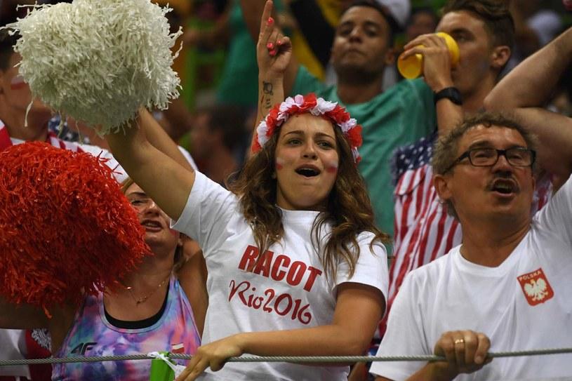 Polscy fani byli w Rio, będą też w Bukareszcie /AFP
