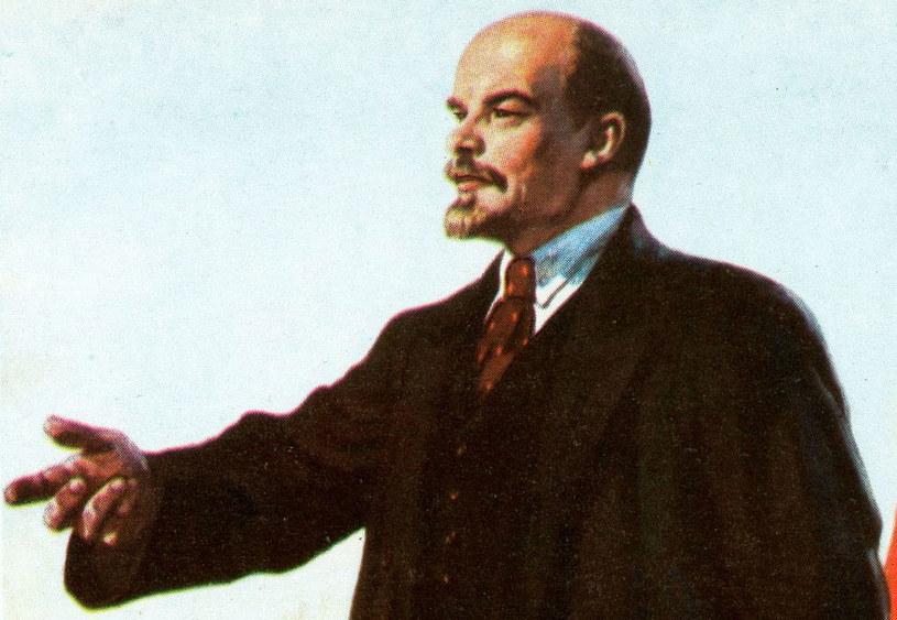 """Polscy komuniści chcieli zastosować """"metody"""" Włodzimierz Lenin /Piscel /INTERIA.PL"""