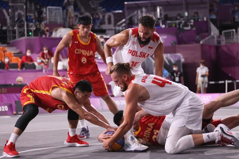 Polscy koszykarze 3x3 mieli w Tokio zdobyć medal, a odpadli w fazie grupowej / Leszek Szymański    /PAP