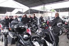 Polscy motocykliści żegnają tragicznie zmarłych Węgrów