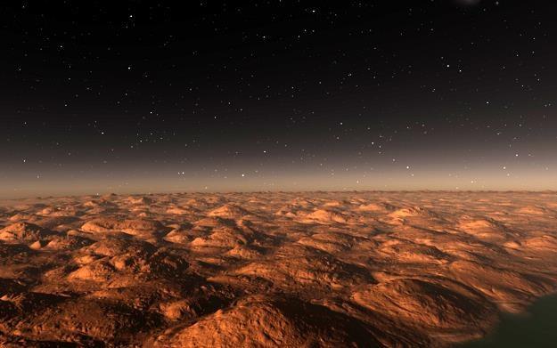 Polscy naukowcy przygotowali kosmiczną wiertnice, która może badać grunt ciał niebieskich, np. Marsa /©123RF/PICSEL