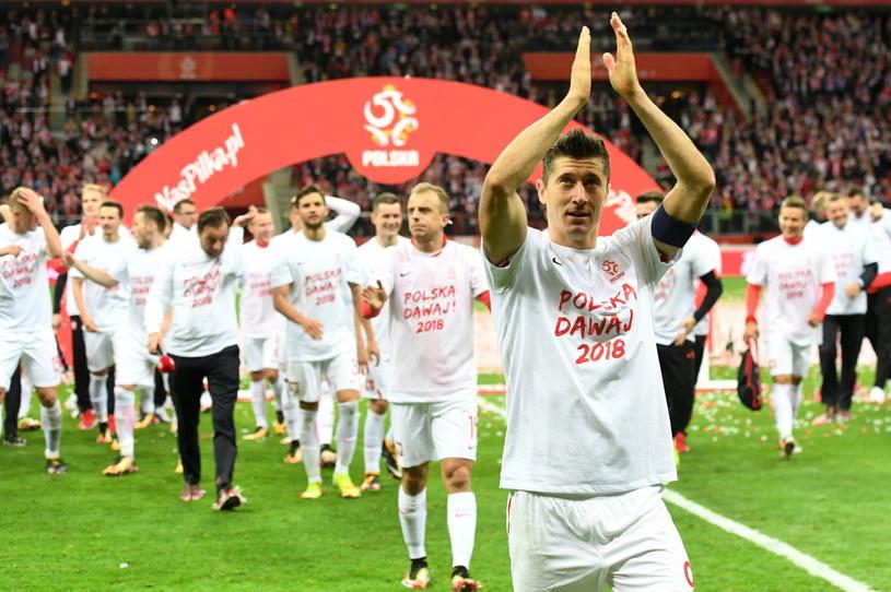 Polscy piłkarze awansowali na mundial w Rosji /Fot. Bartłomiej Zborowski /PAP