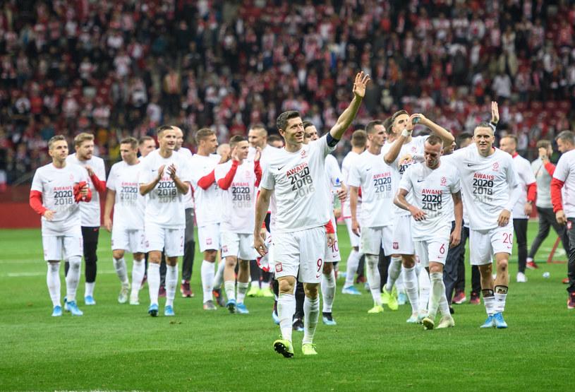 Polscy piłkarze po awansie na finały Euro 2020 /Getty Images