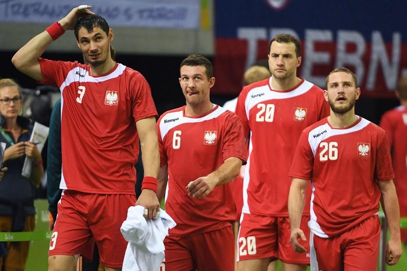 Polscy piłkarze ręczni w Rio de Janeiro /AFP