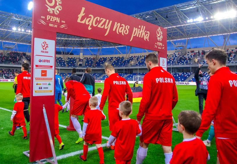 Polscy piłkarze reprezentacji do lat 20 /Jakub Ziemianin /Newspix