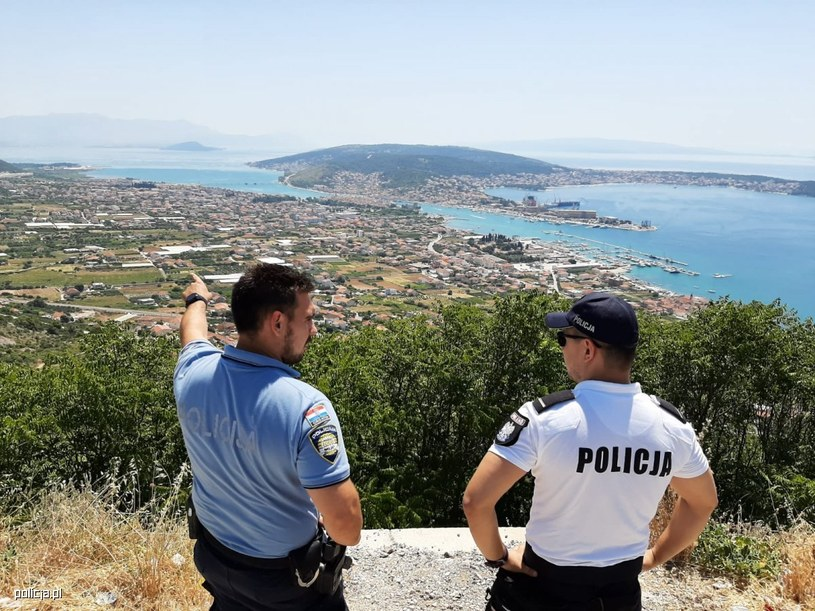 Polscy policjanci pomogą chorwackim funkcjonariuszom /policja.pl /materiał zewnętrzny