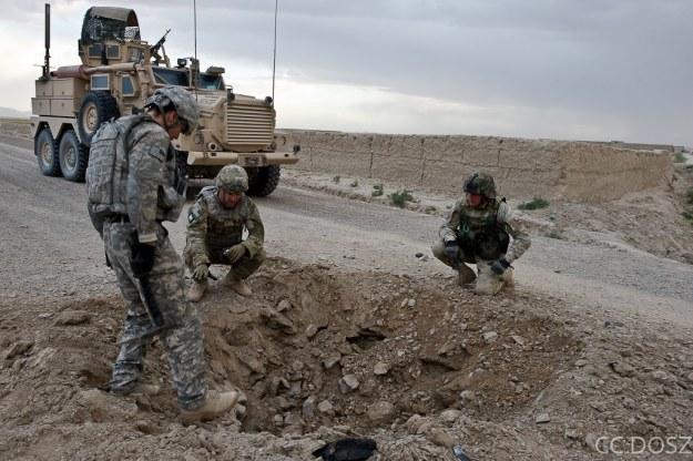 Polscy saperzy w Afganistanie, fot. Adam Roik /