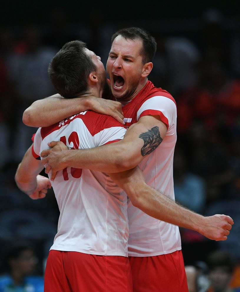 Polscy siatkarze kwalifikację mają w kieszeni /AFP