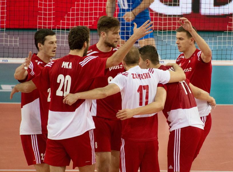 Polscy siatkarze mają na koncie trzy zwycięstwa w obecnej edycji Ligi Światowej /Fot. Grzegorz Michałowski /PAP