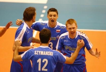 Polscy siatkarze na pewno wystąpią w turnieju finałowym Ligi Światowej 2007 Fot. Rafał Bała /Agencja Przegląd Sportowy