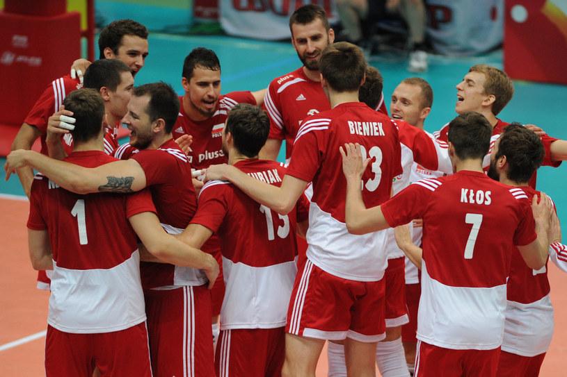 Polscy siatkarze po zwycięstwie /www.fivb.org