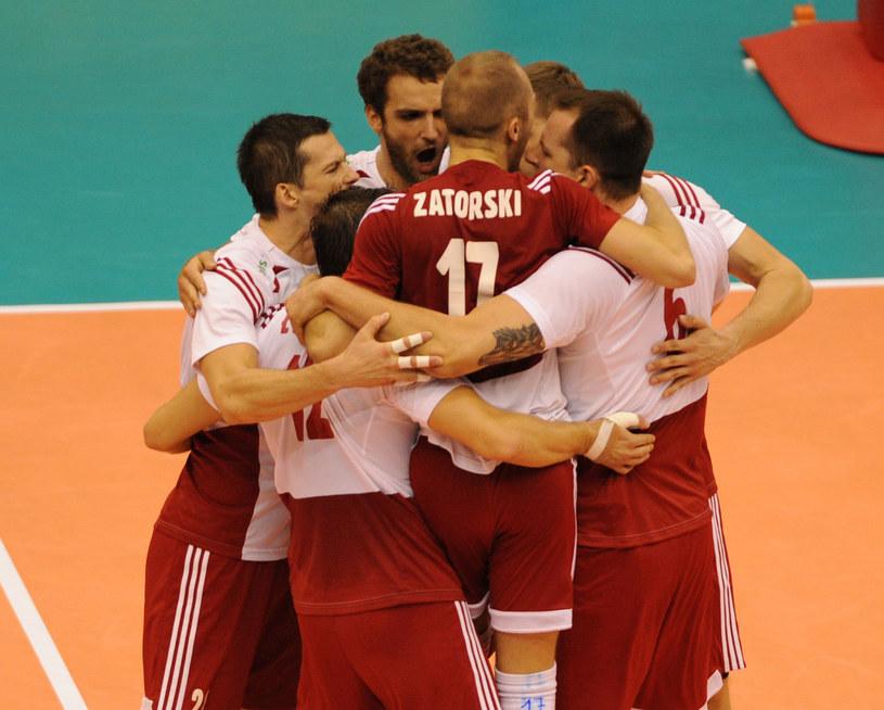 Polscy siatkarze podczas meczu z Rosją /www.fivb.org