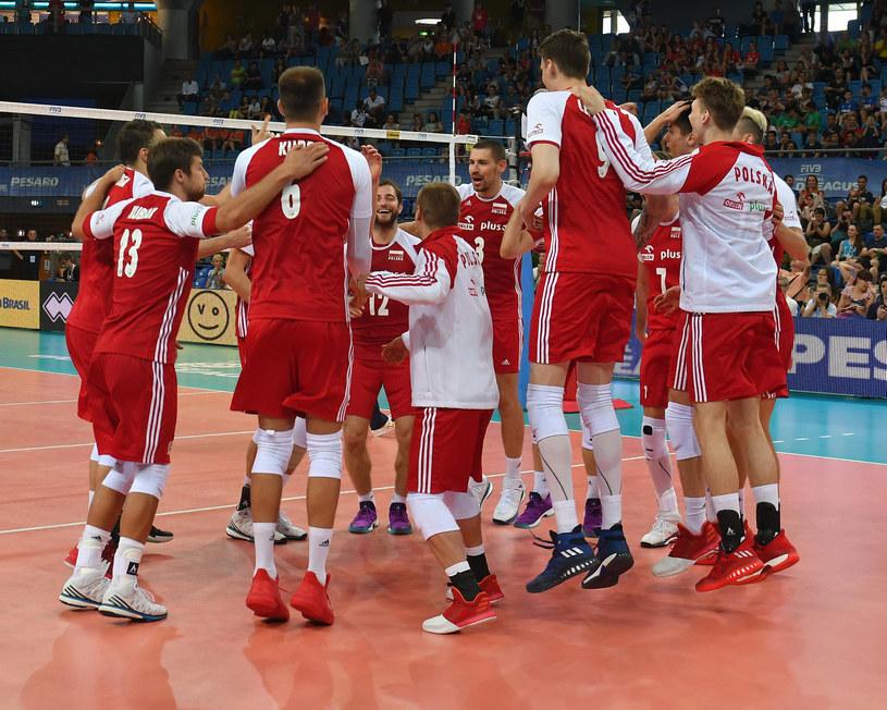 Polscy siatkarze podczas turnieju we włoskim Pesaro w ostatni weekend /www.fivb.org