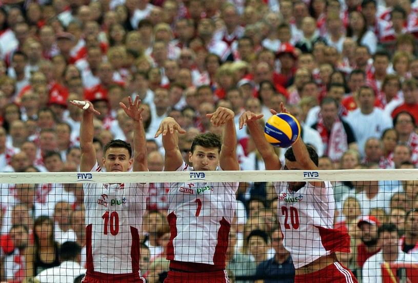 Polscy siatkarze podczas ubiegłorocznych MŚ w naszym kraju /AFP