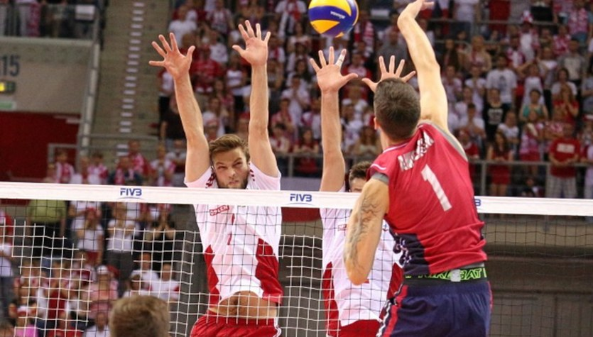 Polscy siatkarze pokonali Amerykanów